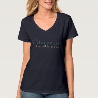 De Muziek van Bluegrass T Shirt