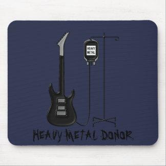 De Muziek van de Donor van het zware Metaal Muismat