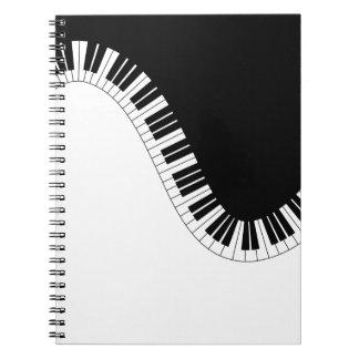 DE MUZIEK VAN DE PIANO NOTITIE BOEKEN