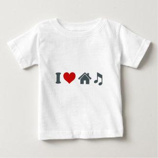 De Muziek van het Huis van de liefde Baby T Shirts