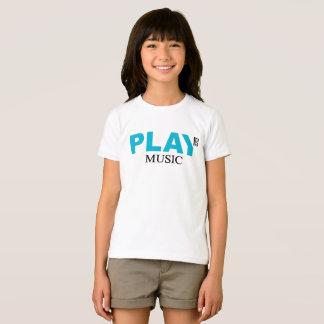 De Muziek van het spel (de Sleutel van de T Shirt
