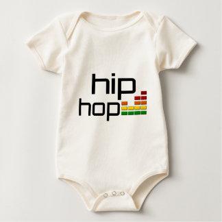 De Muziek van Hip Hop met StereoEqualiser Baby Shirt