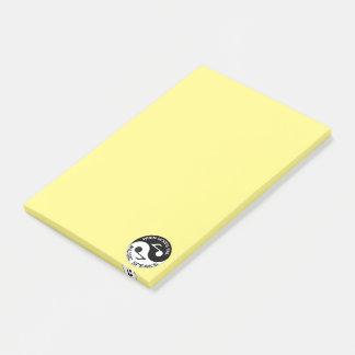 De muziek van Yin yang Post-it® Notes