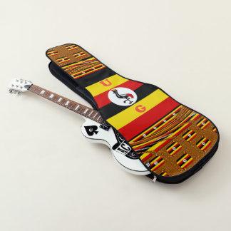 De muziektijd van Baganda Gitaartassen