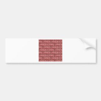 De Naadloze Achtergrond van de Textuur van de Bumpersticker