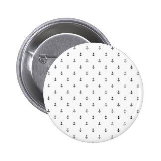 De naadloze textuur van het anker ronde button 5,7 cm
