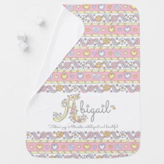De naam van Abigail en het betekenen van de deken Inbakerdoeken