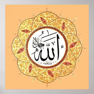 De naam van Allah door Hafiz Osman Poster
