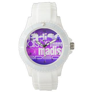 De Naam van de douane; Roze, Violet paars Blauw, Horloges