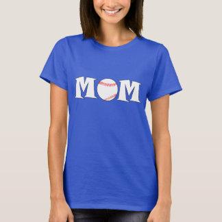 De Naam van het Mamma van het honkbal en de T Shirt