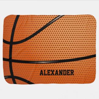 De Naam van het Patroon van het basketbal past aan Inbakerdoek