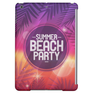 De Nacht van de Partij van het Strand van de zomer