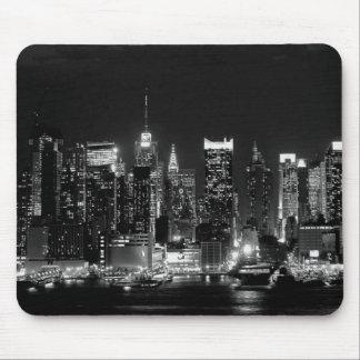 De Nacht van de Stad van New York Muismatten