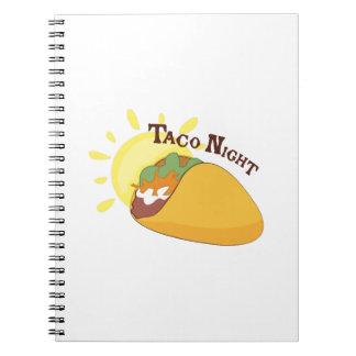 De Nacht van de taco Notitie Boek
