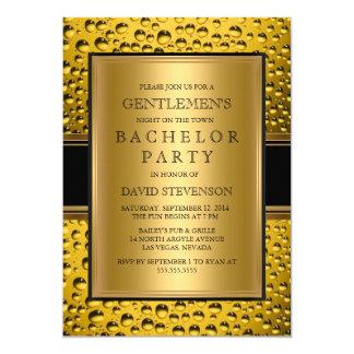 De Nacht van het Mannen van de Partij van de 12,7x17,8 Uitnodiging Kaart