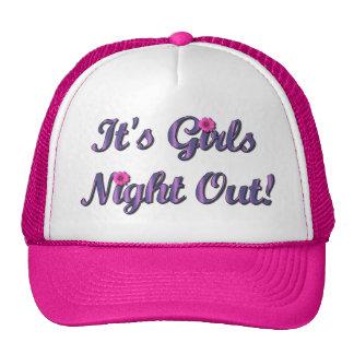 De Nacht van meisjes Mesh Petten