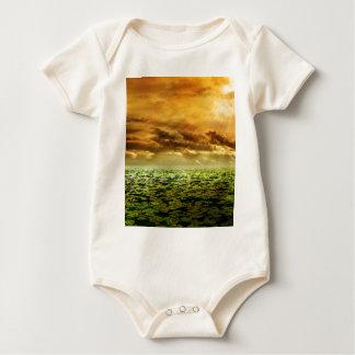 De Nagloeiing van de zonnestraal Baby Shirt