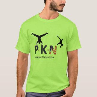 De Natie de V.S. van Parkour T Shirt