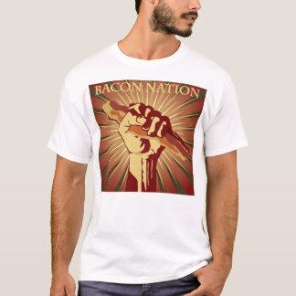 De Natie van het bacon T Shirt