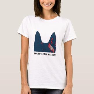 De Natie van het Oor van Pointy T Shirt