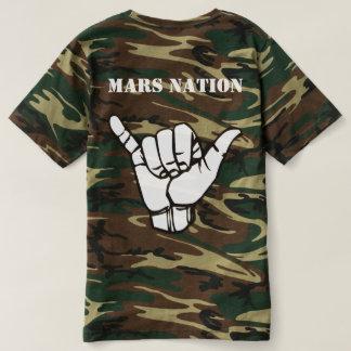 De Natie van Mars keert om T Shirts