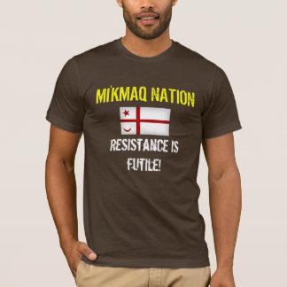 De Natie van Mi'kmaq T Shirt