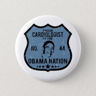 De Natie van Obama van de cardioloog Ronde Button 5,7 Cm