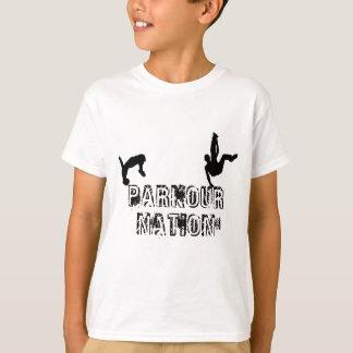 De Natie van Parkour T Shirt