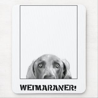 De Natie van Weimaraner: Weimaraner in een Doos! Muismatten
