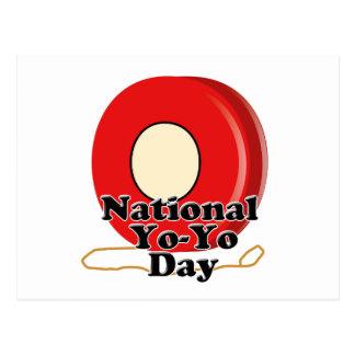 De nationale Dag van de Jojo Briefkaart