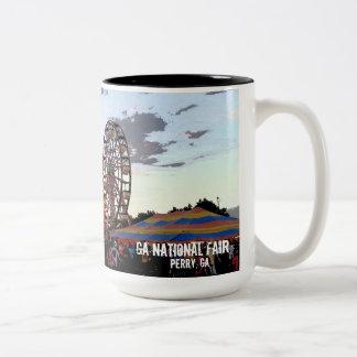 De Nationale Markt van Georgië, Perenwijn GA Tweekleurige Koffiemok