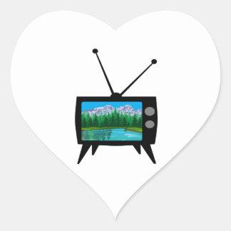 De nationale Media van het Park Hart Sticker