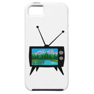 De nationale Media van het Park Tough iPhone 5 Hoesje
