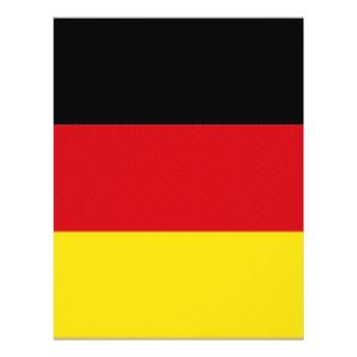 De Nationale Vlag van Duitsland Folder Ontwerp