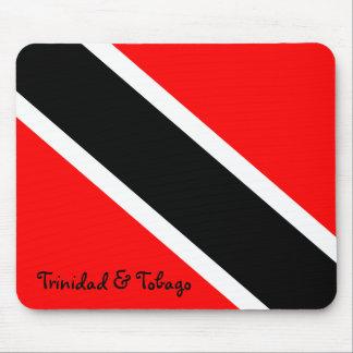 De Nationale Vlag van Trinidad en van Tobago Muismat