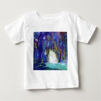 De natuur is een sprookje baby t shirts
