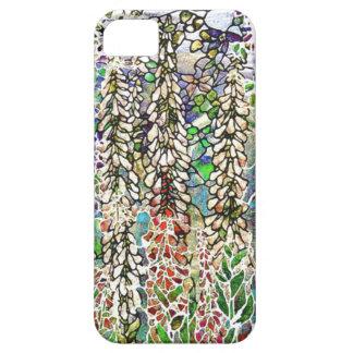De Natuur van Tiffany van het Gebrandschilderd Barely There iPhone 5 Hoesje