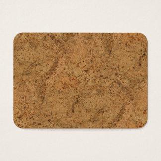 De natuurlijke Cork van de Rook Houten Korrel van Visitekaartjes