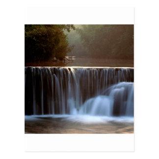 De Natuurlijke Dam Ozark BosArkansas van het park Briefkaart
