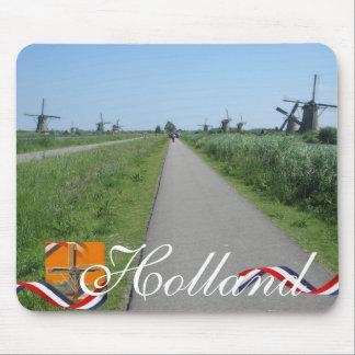 De Nederlandse Herinnering Mousepad van de Tekst v Muismat