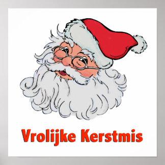 De Nederlandse Kerstman Poster
