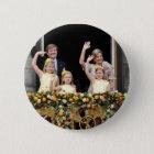 De Nederlandse Koninklijke Familie Ronde Button 5,7 Cm
