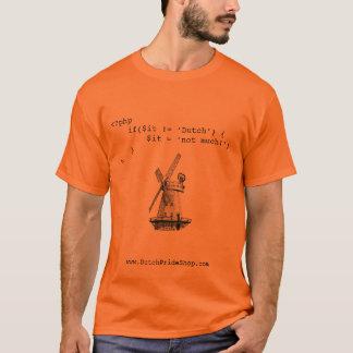 De Nederlandse Trots van Geek T Shirt