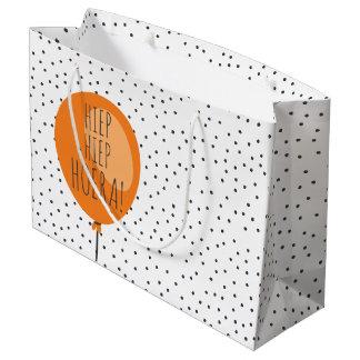 De Nederlandse Verjaardag van de Oranje Ballon van Groot Cadeauzakje