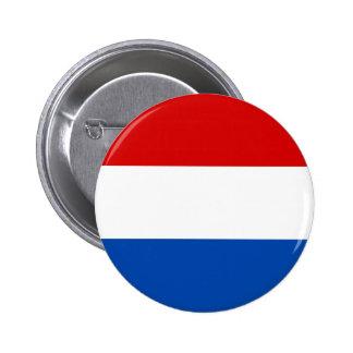 De Nederlandse Vlag Ronde Button 5,7 Cm