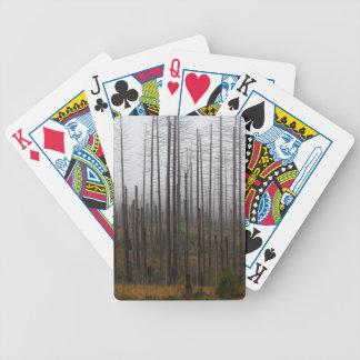 De nette bomen van de dood pak kaarten