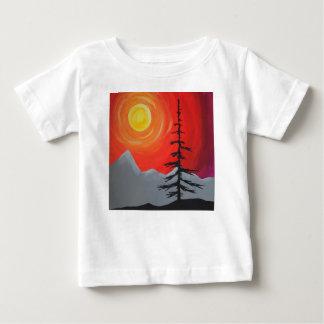 De nette T-shirt van de Zonsondergang