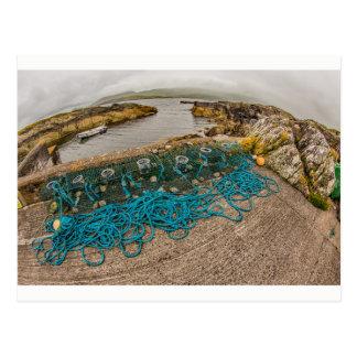 """De """"netten van de visserij"""", het briefkaart van"""