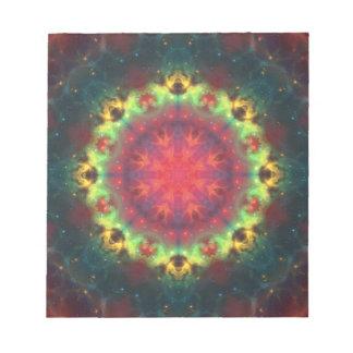 De Nevel Mandala van de halo Notitieblok