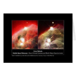 De Nevel NGC 2264 Hubble van de kegel Zichtbaar Kaart